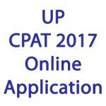 UP CPAT 2017 Application Form
