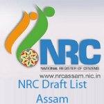 NRC Draft List Assam 2017