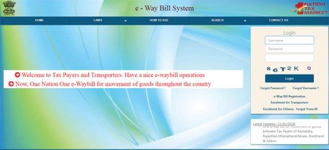 e Waybill Portal