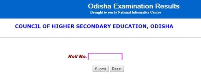 Odisha 10th Result 2018