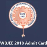 West Bengal JEE Admit Card 2018