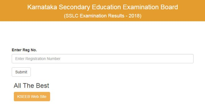 Karnataka 10th Result 2018