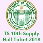 TS 10th Hall Ticket 2018