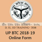 UP D.El.Ed 2018-19 Admission