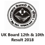 Uttarakhand Board Result 2018 Class 10th & 12th