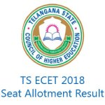 TS ECET 2018 Seat Allotment Result
