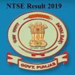 NTSE Result 2019 Punjab Stage 1