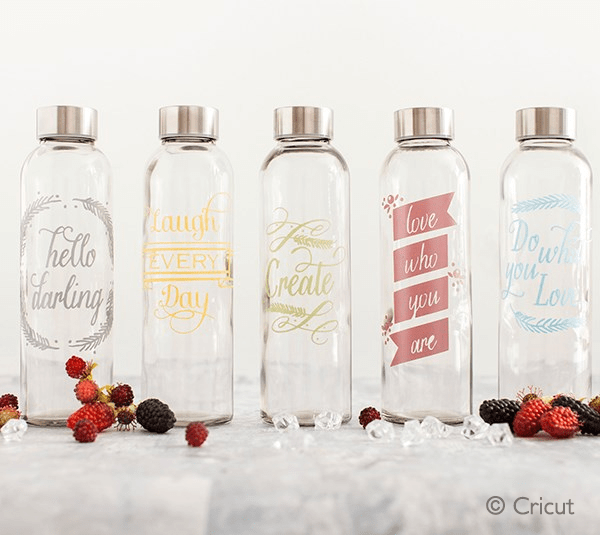 Cricut Water Bottles With Sass Preview