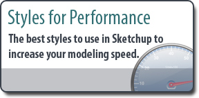 Sketchup Styles for Performance