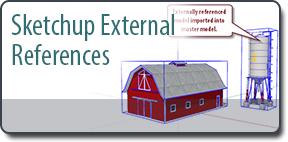 SketchUp External References