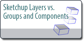 Sketchup Layers vs. Groups & Components