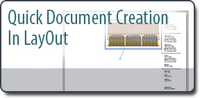 Quick Document Creation in LayOut