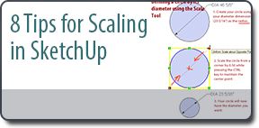 8 Tips for Scaling in SketchUp