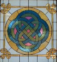 Masterson Fine Arts - Storyteller Celtic Design Stained ...