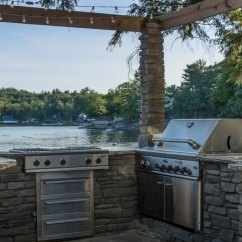 Outdoor Kitchen Bar 2 Seater Table Grill Masterstone Hardscapes Llc