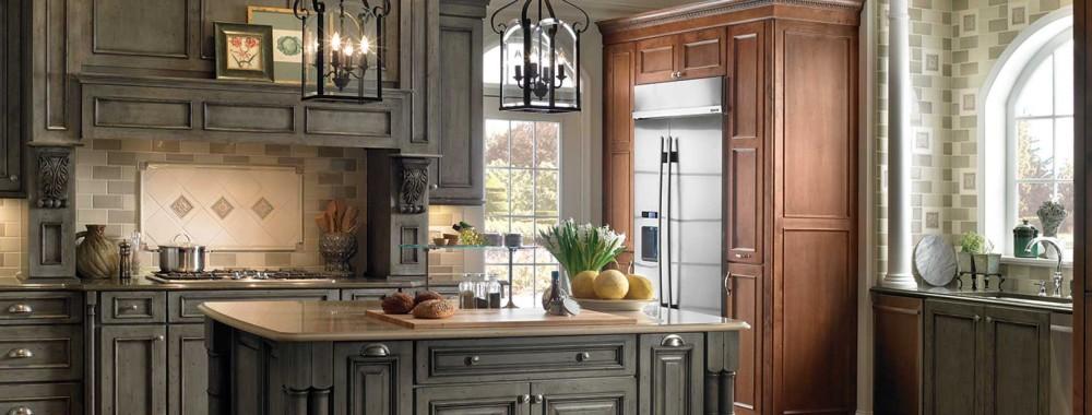 alder kitchen cabinets red appliances bath idea book   design installation ...
