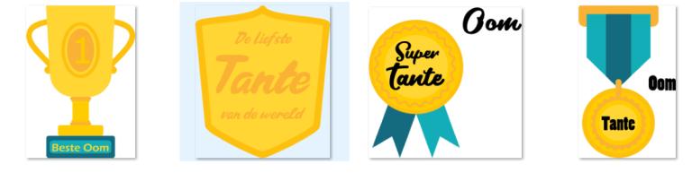 Opzoek naar oom en Tante logos – voor Leden