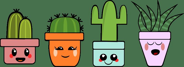 Kawaii Cactus Mix en Match!