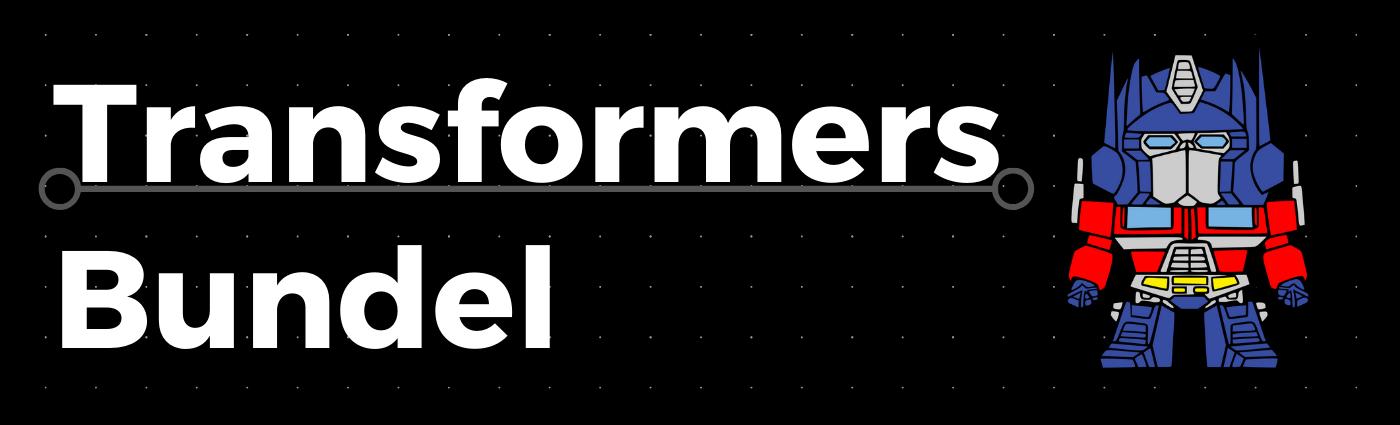 Robot Bundel – Inclusief Lettertype