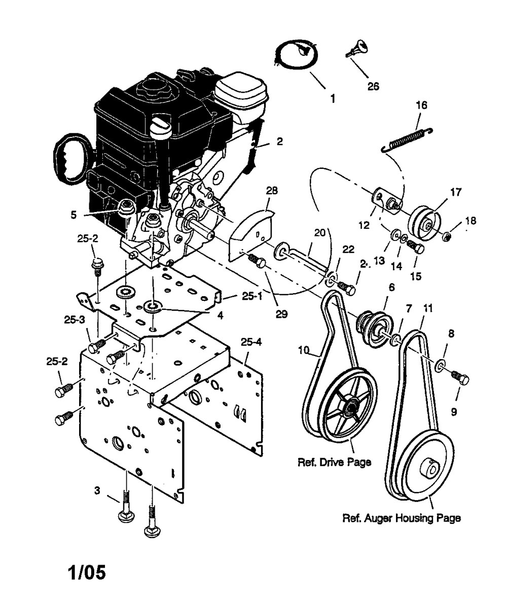 sears craftsman snow blower manual