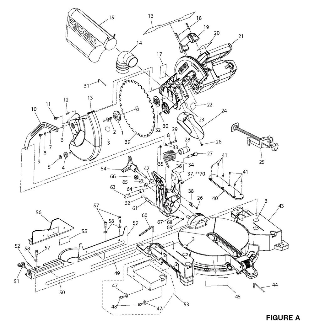 Chicago Electric Compound Miter Saw ManualDownload Free