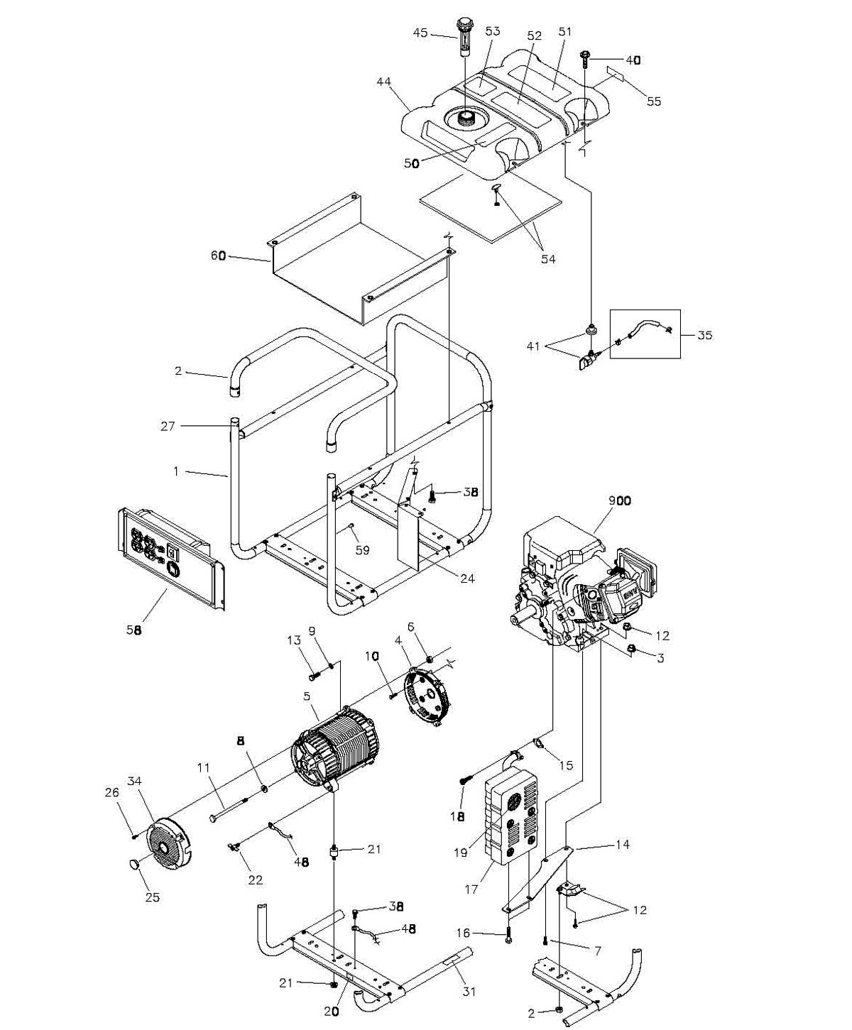 troy bilt pressure washer parts diagram dual battery system wiring boat chipper vac model 47291