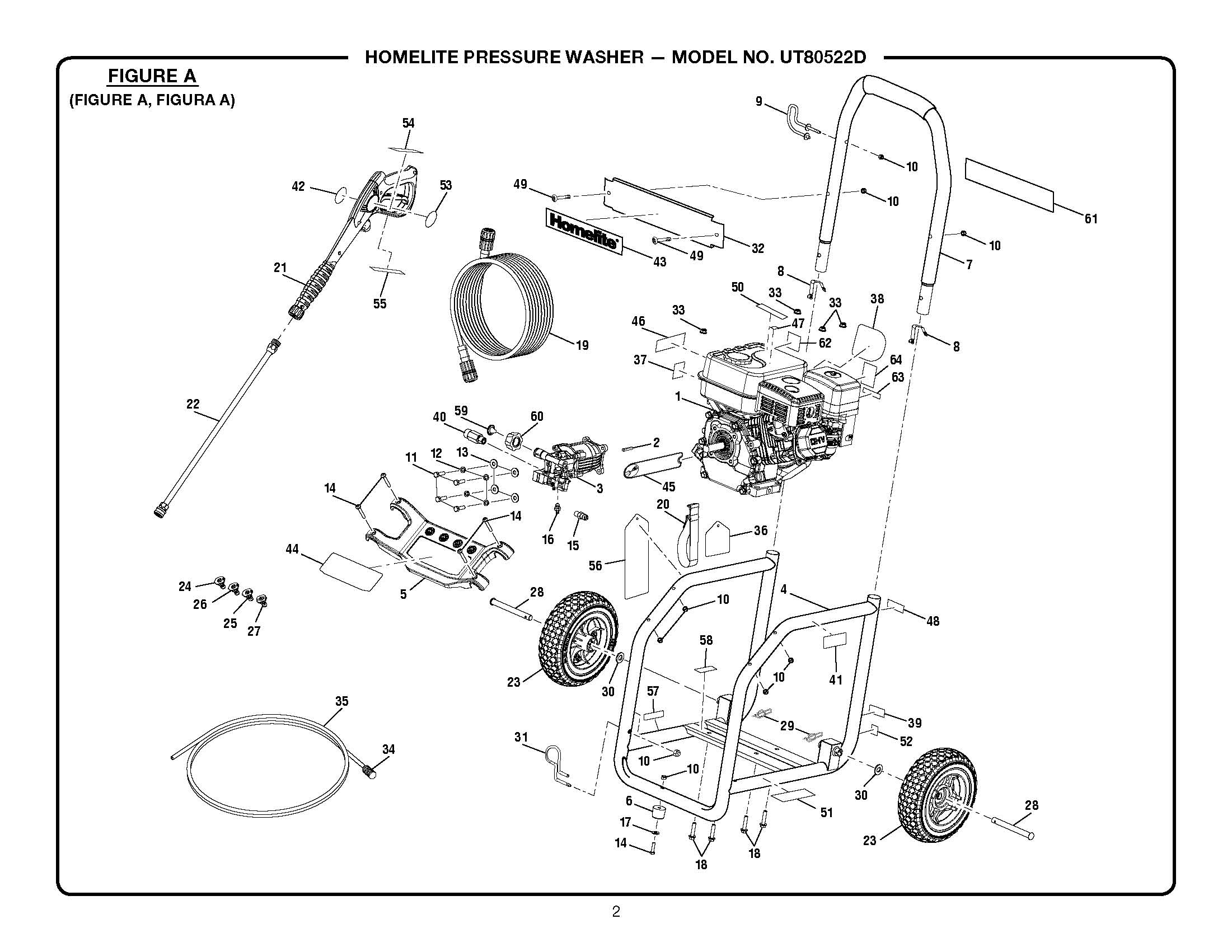 Pressure Washers: Pressure Washer Replacement Parts