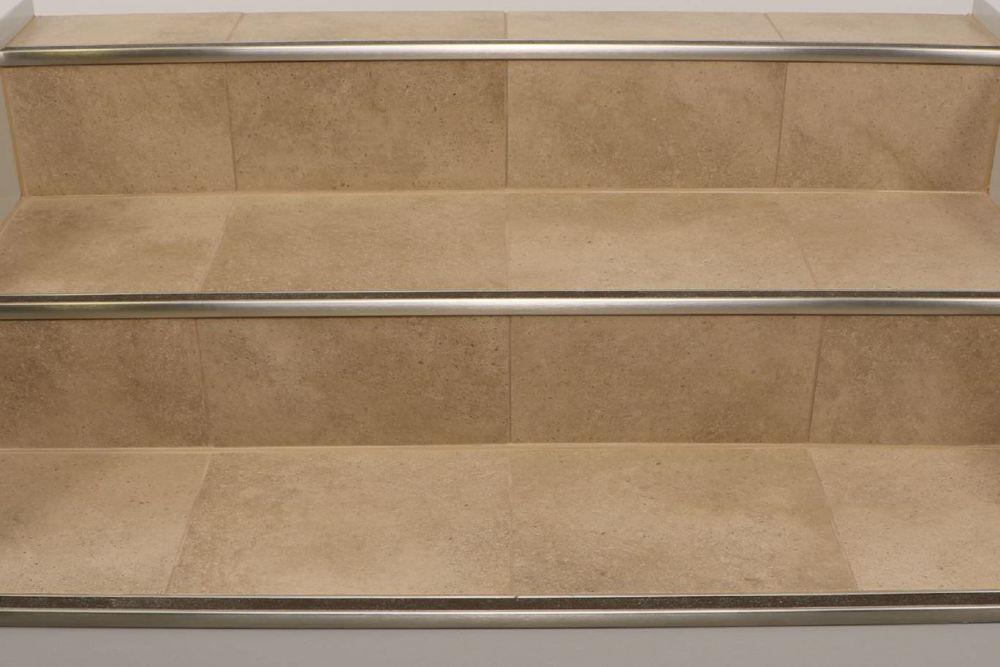 schluter trep gk stair nose tile edging trim