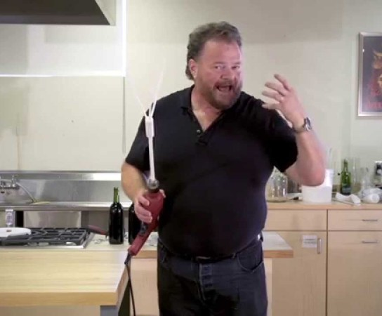 How to Degas Wine Using a Wine Whip | Getting the CO2 Out of Your Wine!