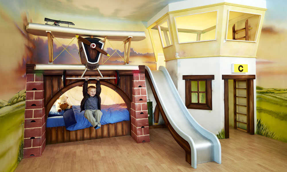 Barons Bunk  Luxury handmade boys bedroom and furniture