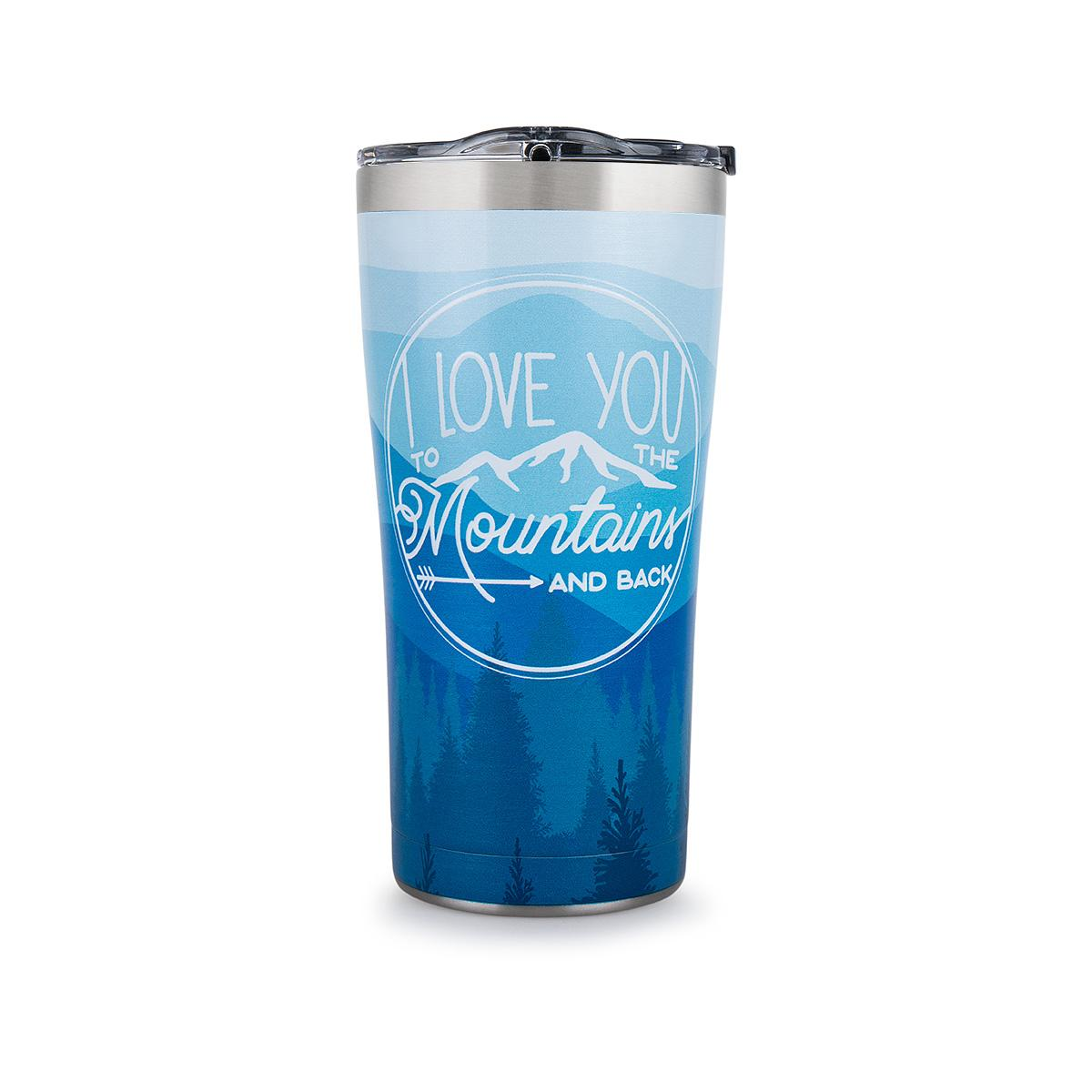mast general store stainless steel tervis tumbler i love you to the mountains and back