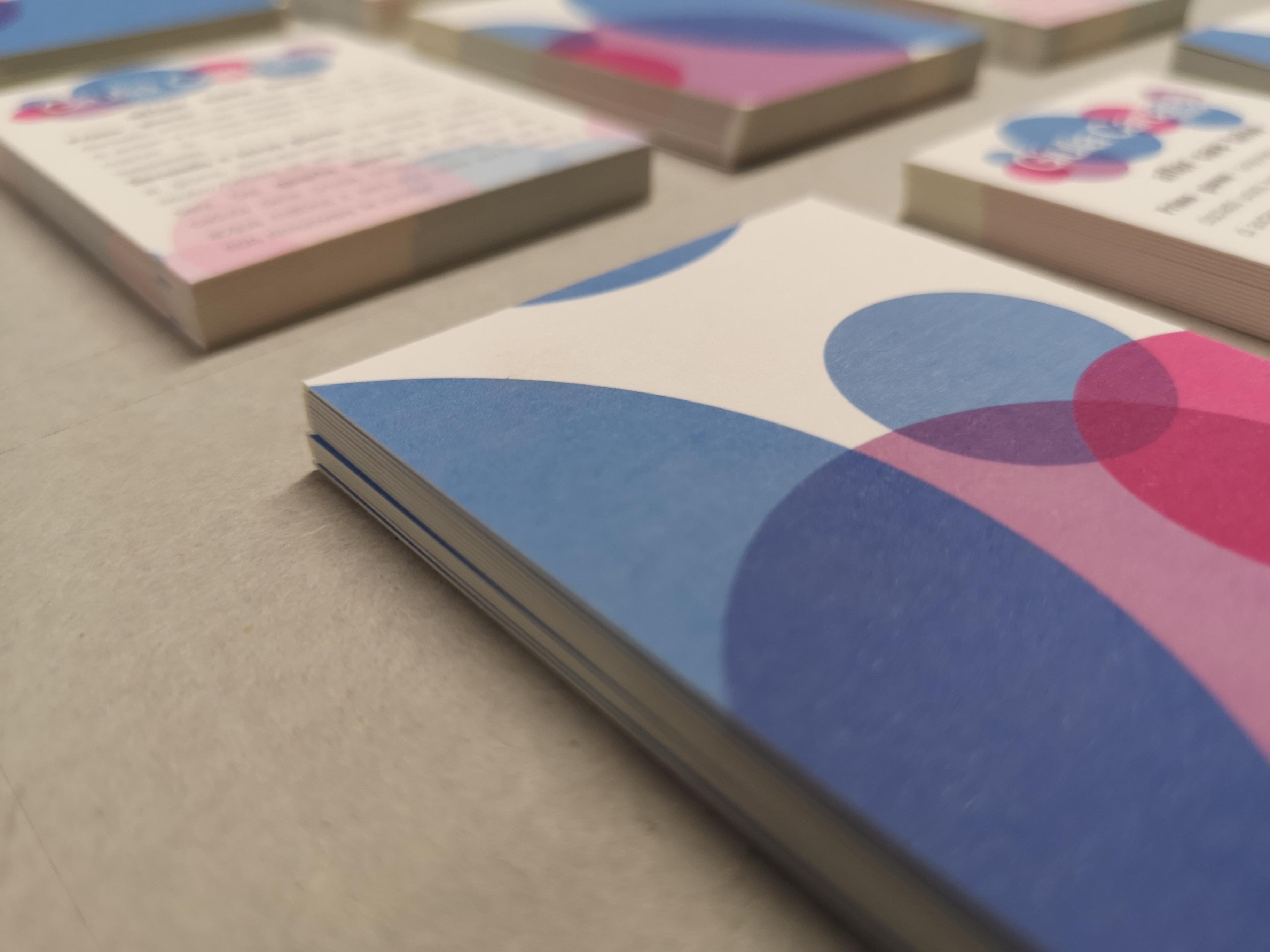 Giulia Cardarelli Make Up artist business cards   MASTROiNCHIOSTR