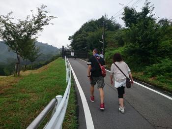 竹田城 山道