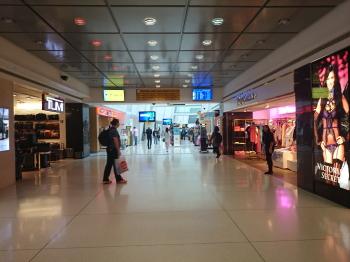 JFK出発ターミナル