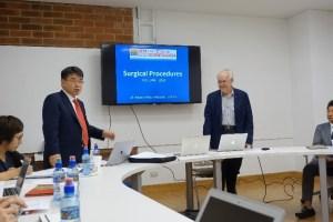 ニューヨーク大学インプラント科チョー教授とフランシスコマロキン大学歯学部学部長