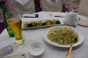 香港での中華料理