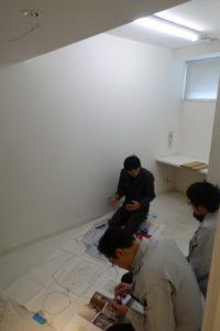 診療台増設のための工事