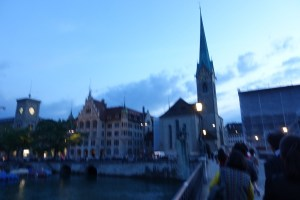 チューリッヒの夜景1