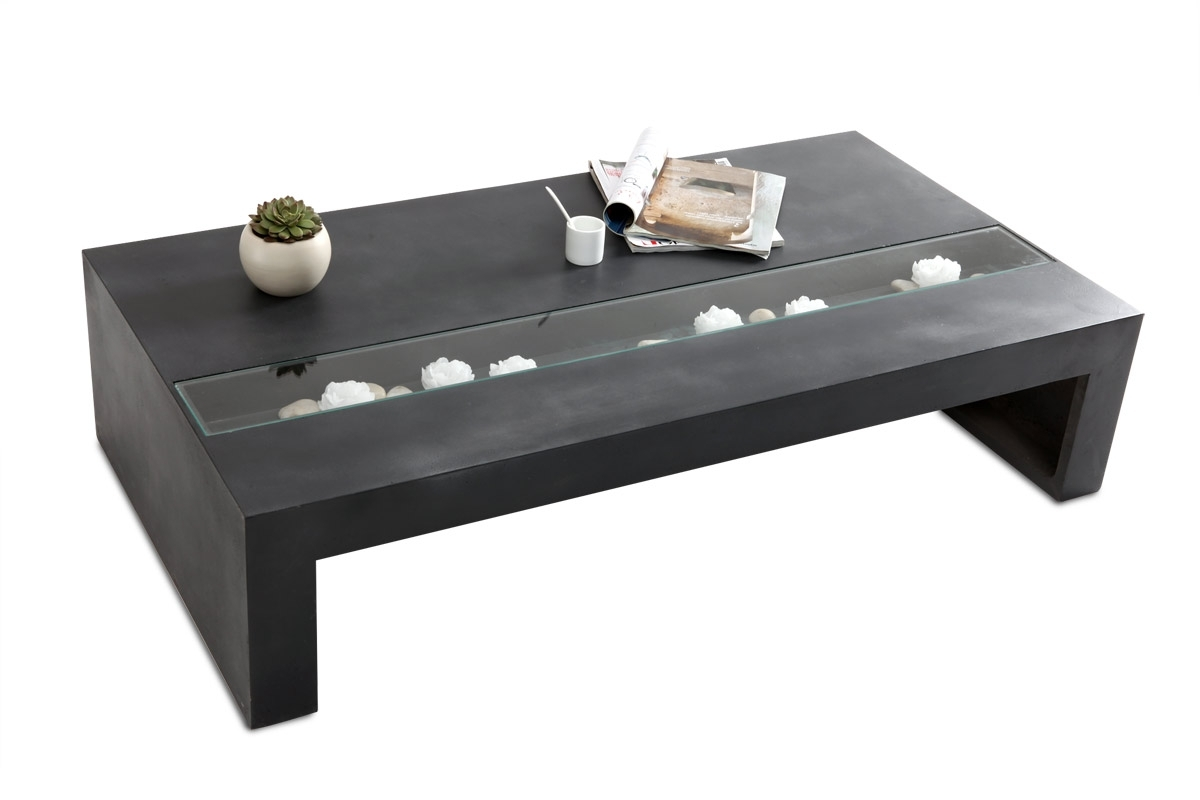 Table Basse Design Beton Wilmer