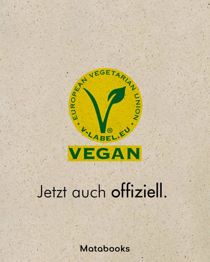 20200705 so VLabel matabooks - erster Kalender mit V-Label in Deutschland