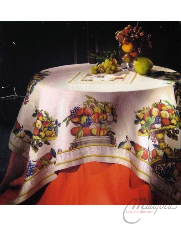 Tovaglia Florentia di Tessitura Toscana Telerie