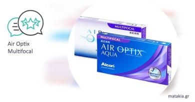 Πολυεστιακοί φακοί επαφής Air Optix Multifocal