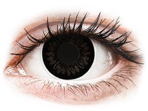 ColourVUE BigEyes Dolly Black - Αποκριάτικοι φακοί επαφής