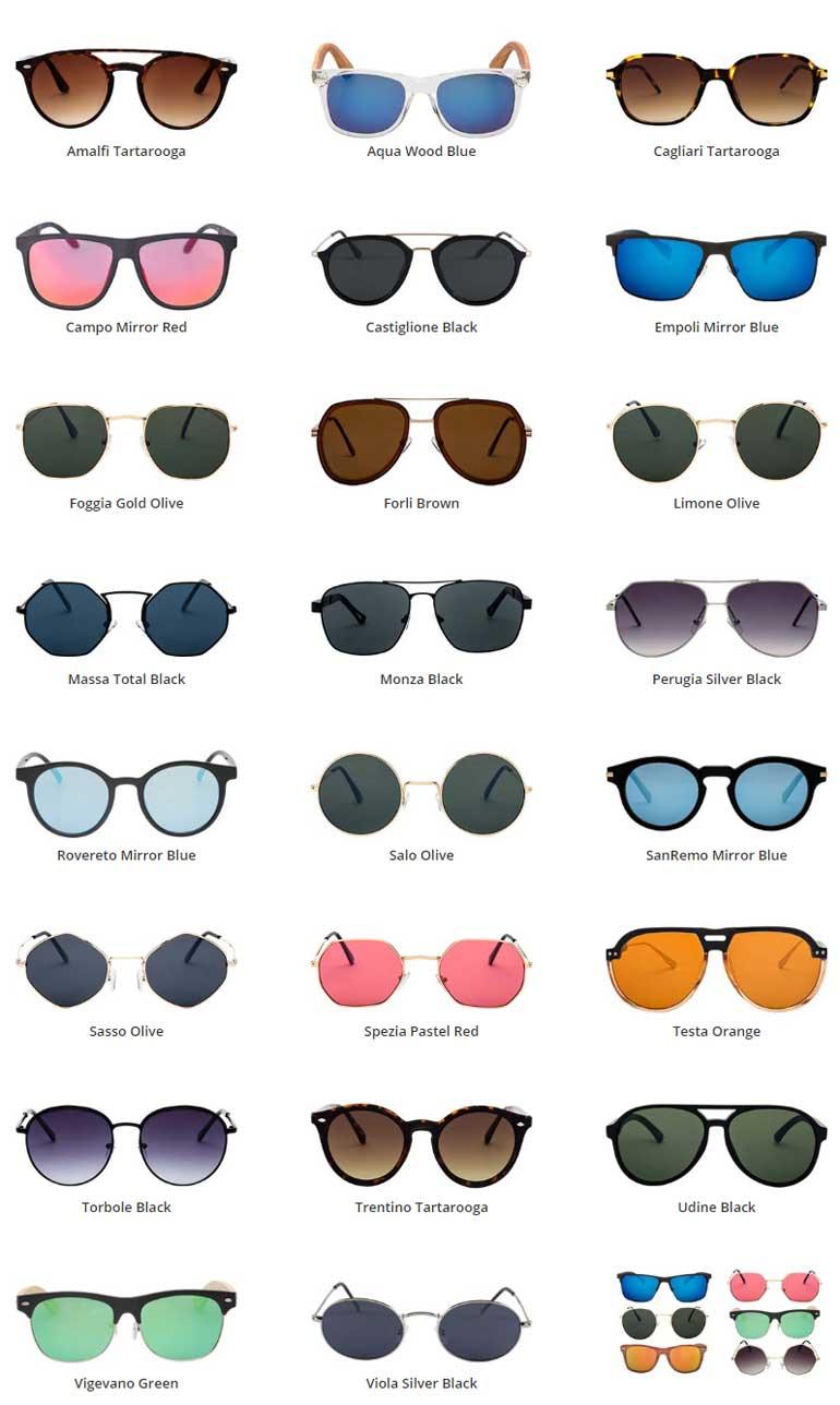 Unisex γυαλιά ηλίου 1+1