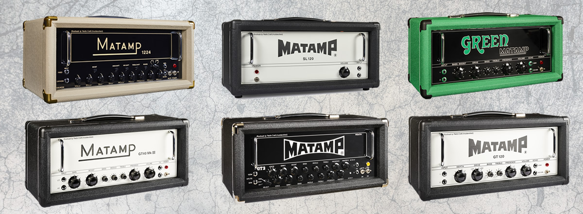 Matamp UK handbuilt guitar valve amplifiers