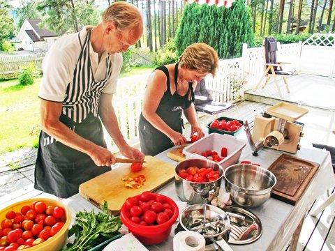 Tomater, Eivind og Rita