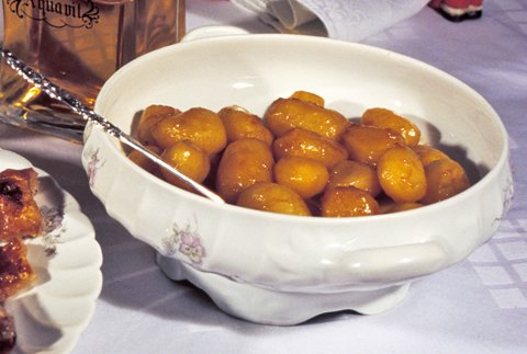 Brune poteter