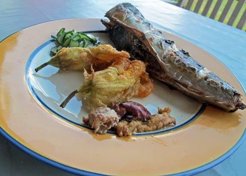 Squash, fritert med makrell4