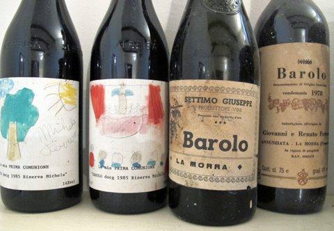 Vinflasker, gamle og nye