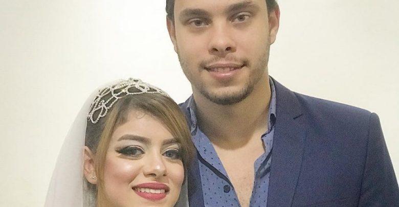 صور زواج احمد حسن وزينب محمد